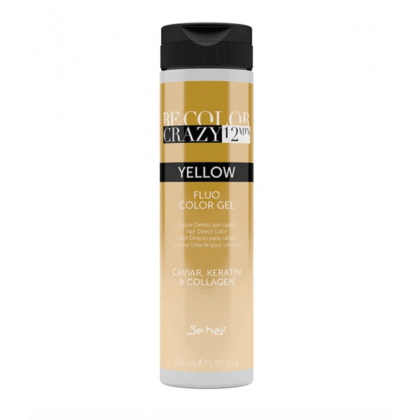 BE HAIR - BE COLOR CRAZY 12 MINUTES 150ML - YELLOW