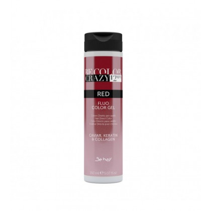 BE HAIR - BE COLOR CRAZY 12 MINUTES 150ML - RED