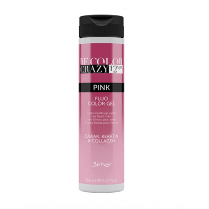BE HAIR - BE COLOR CRAZY 12 MINUTES 150ML - PINK