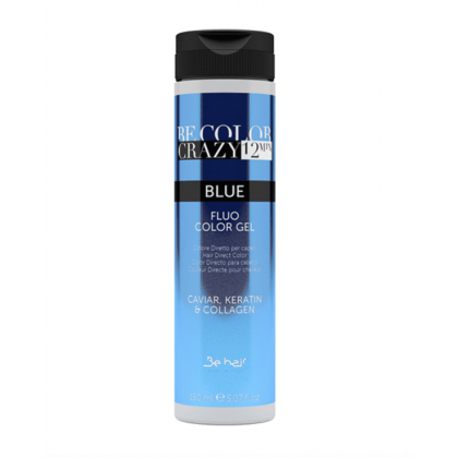 BE HAIR - BE COLOR CRAZY 12 MINUTES 150ML - BLUE