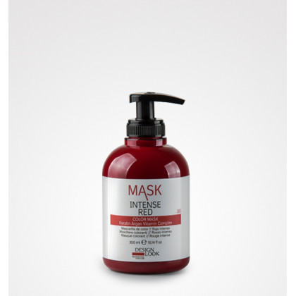 DESIGN LOOK COLOR MASK 300ML - INTENSE RED
