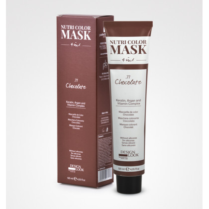 DESIGN LOOK NUTRI COLOR MASK 4 IN1 120ML - .77 CHOCOLATE