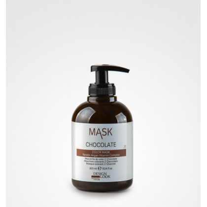 DESIGN LOOK COLOR MASK 300ML - CHOCOLATE