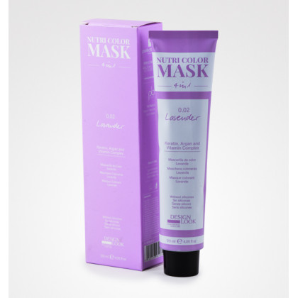 DESIGN LOOK NUTRI COLOR MASK 4 IN1 120ML - 0.02 LAVANDER