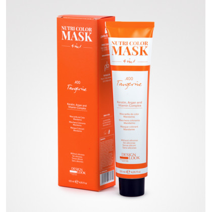 DESIGN LOOK NUTRI COLOR MASK 4 IN1 120ML - .400 MANDARIN