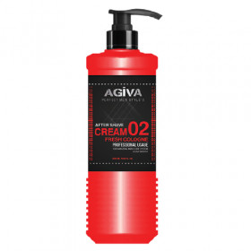 AGIVA AFTER SHAVE CREAM 02 FRESH COLOGNE 400ML - Dopobarba in crema