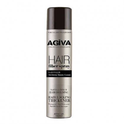 AGIVA TOPPIK HAIR FIBER SPRAY 150ML MED BROWN
