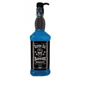 BANDIDO SHAVING GEL BLUE 1000ML - Gel rasatura per barba