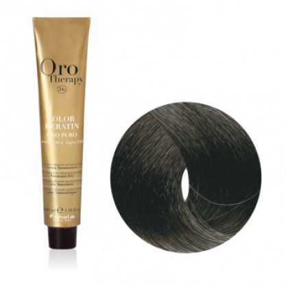 FANOLA ORO THERAPY COLOR KERATIN 1.0 100ML - NERO