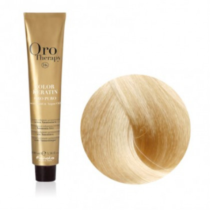 FANOLA ORO THERAPY COLOR KERATIN 11.0 100ML - SUPERSCHIARENTE BIONDO PLATINO